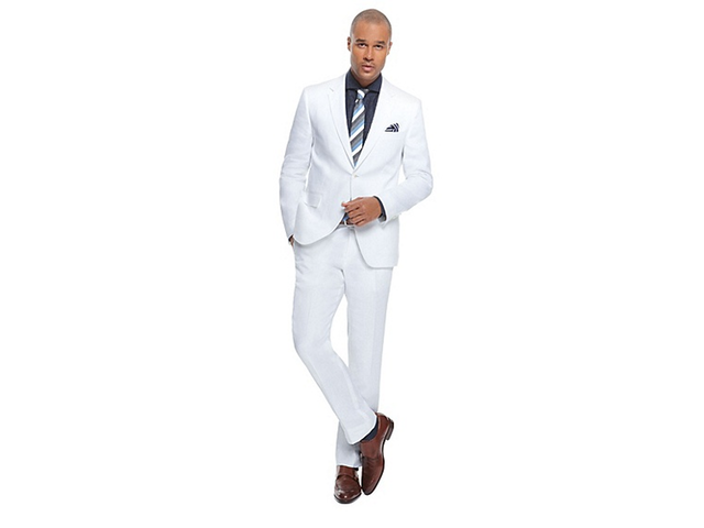 Hugo Boss White Suit: Jarett/Lenon | amanify Men's Style | Living ...